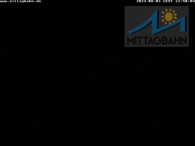 Webcam mit Blick von dem Mittaggipfel in Immenstadt