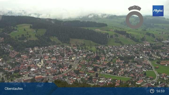 Webcam mit Ausblick auf Oberstaufen