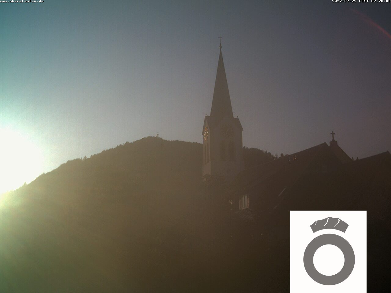 Webcam in Oberstaufen Ortsmitte