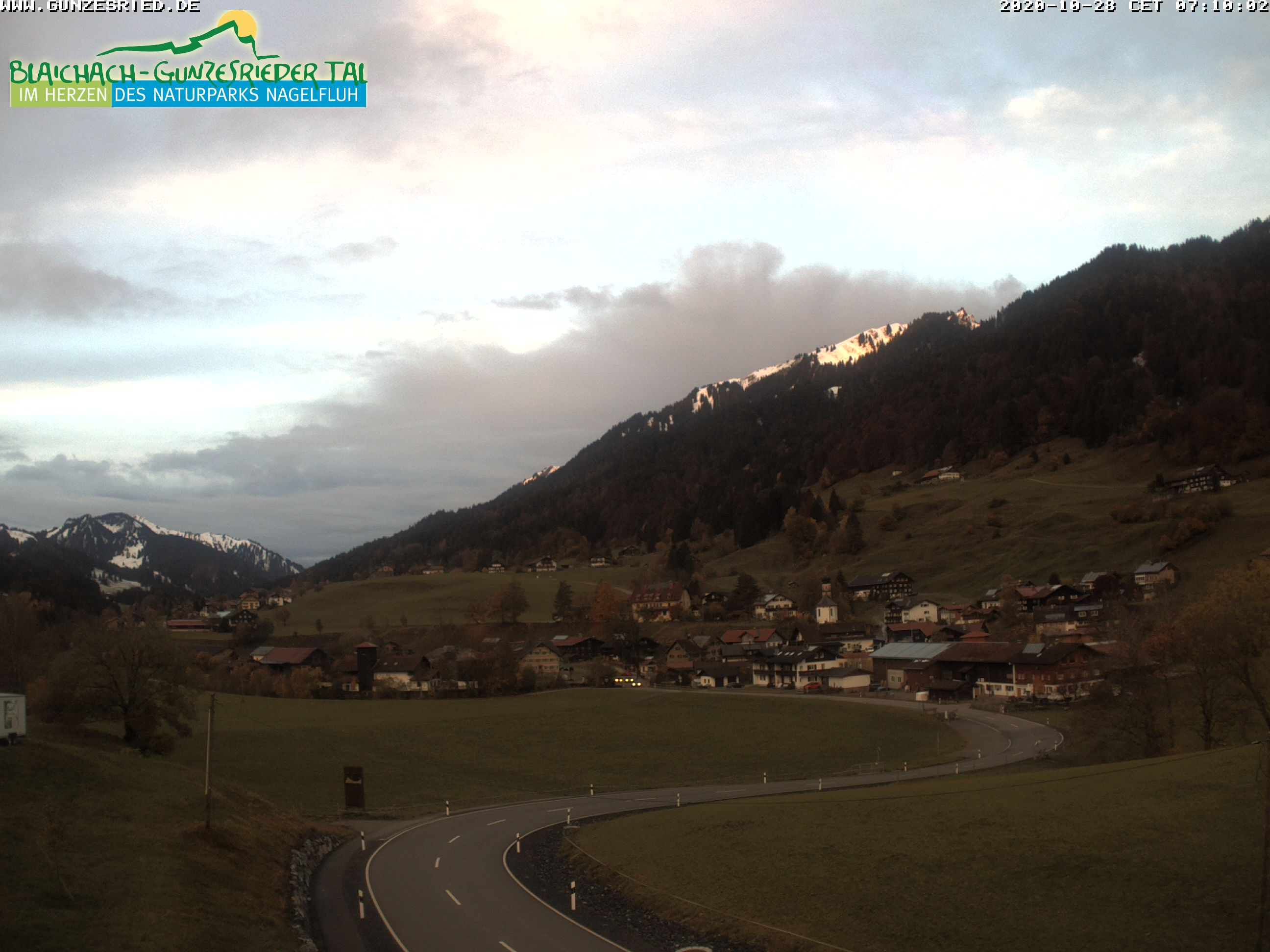 Webcam Gunzenrieder Tal in Blaichach
