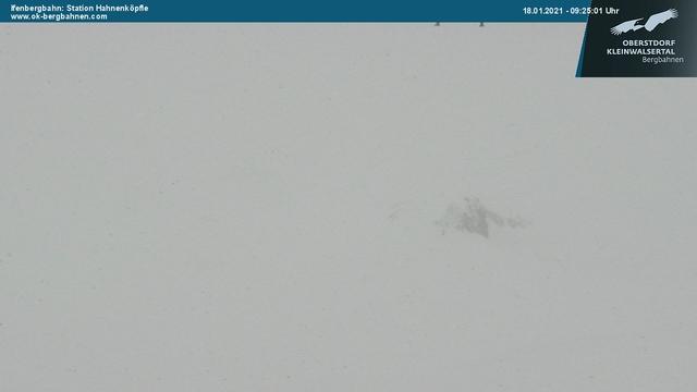 Webcam auf dem Ifen Hahnenköpfle in Oberstdorf