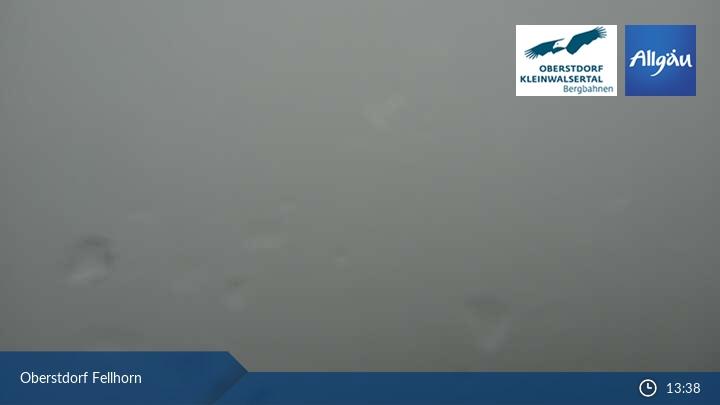 Webcam mit Blick auf das Fellhorn in Oberstdorf