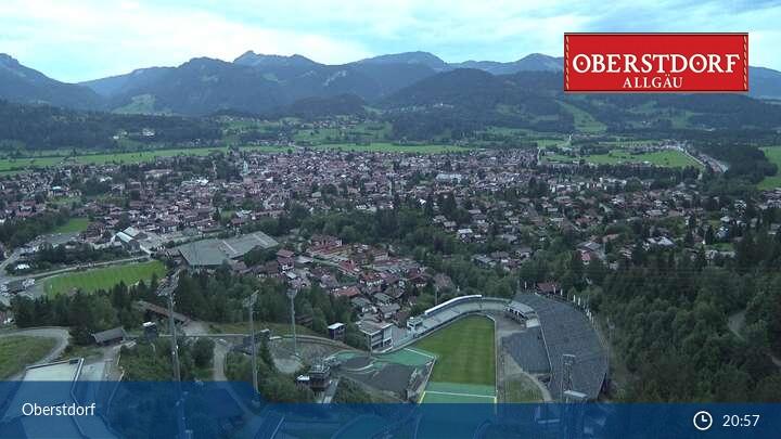 Webcam mit Blick auf Oberstdorf