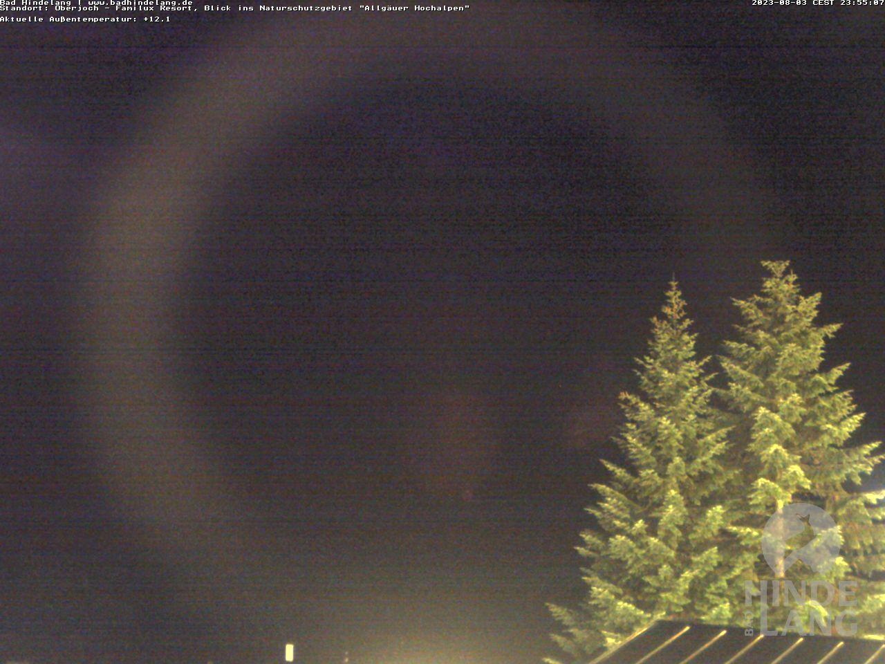 Webcam Naturschutzgebiet Allgäuer Hochalpen vom Kinderhotel Oberjoch