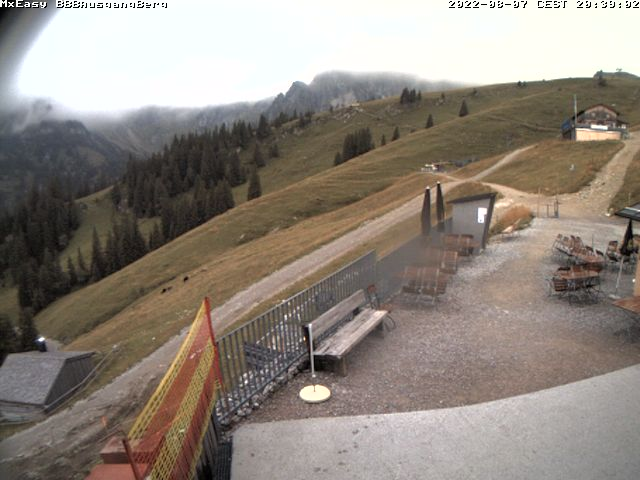 Webcam auf der Bergstation des Breitenbergs in Pfronten