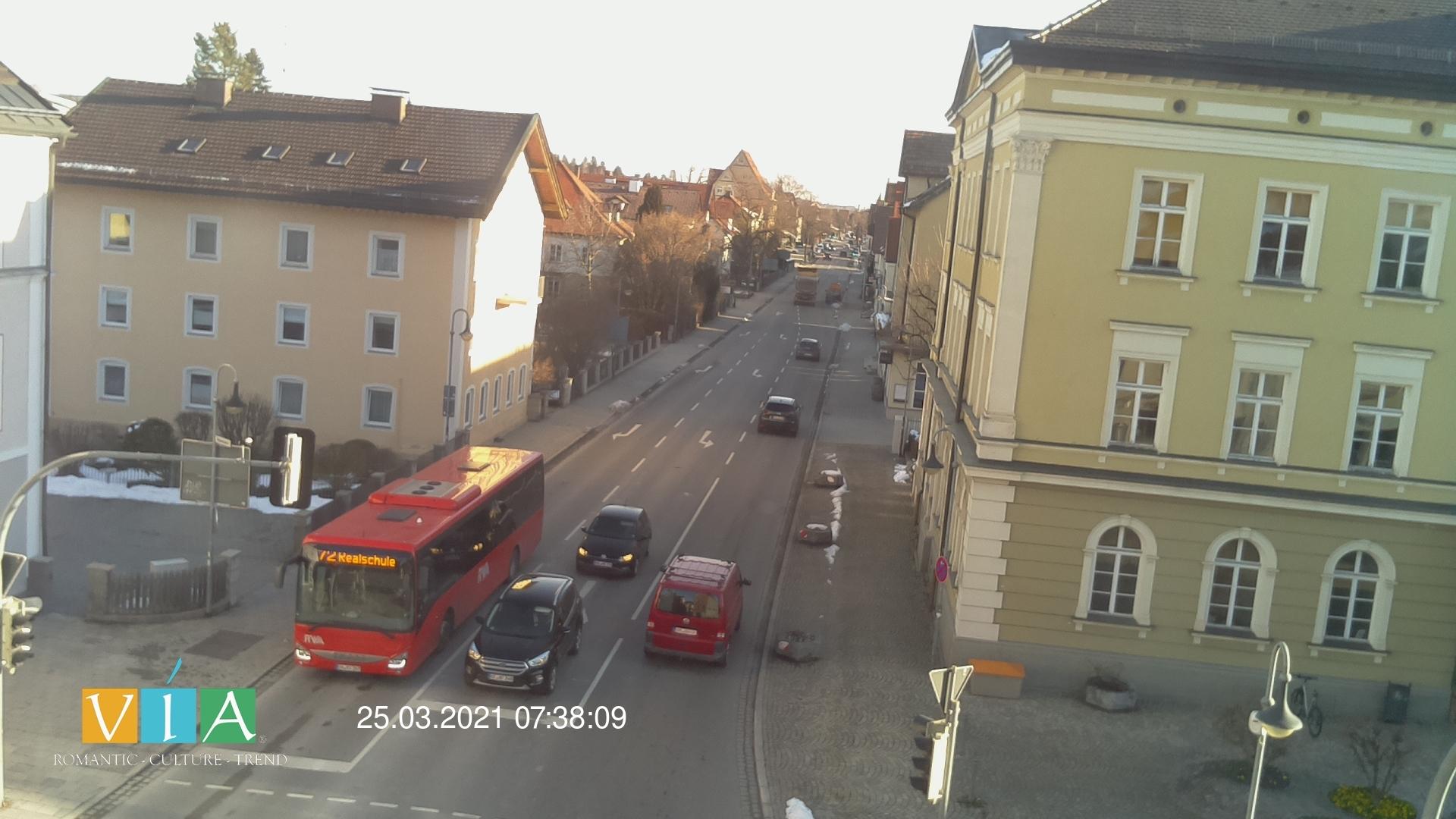 Webcam mit Blick auf Füssen Tourismus