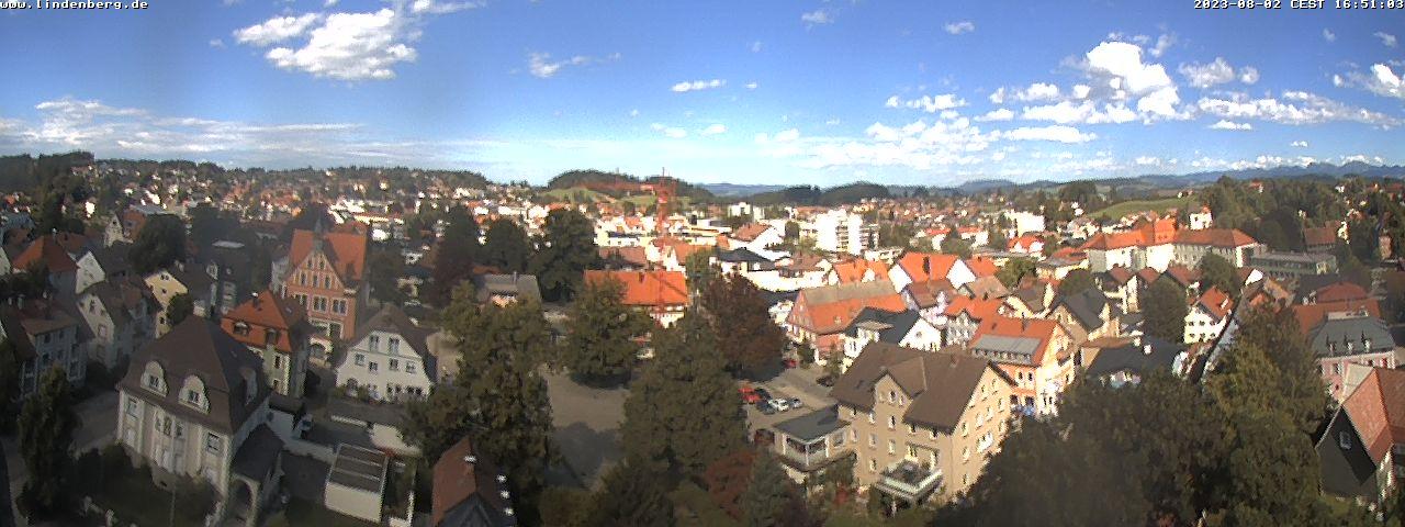 Webcam mit Blick auf Lindenberg
