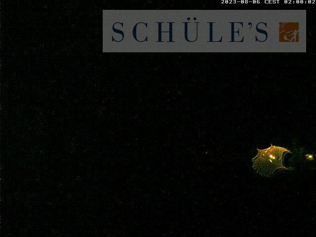 Webcam mit Sicht auf die Landschaft in Oberstdorf
