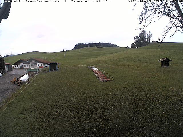 Webcam von dem Skilift Sinswang in Oberstaufen