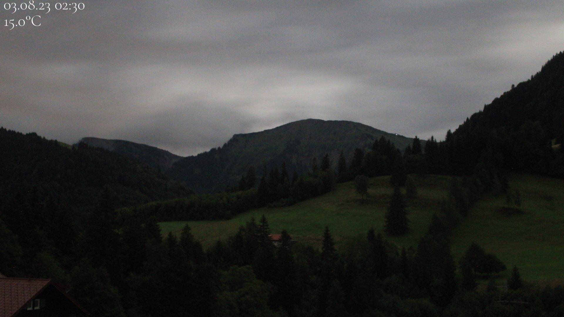 Webcam von dem Biohotel Schratt in Oberstaufen