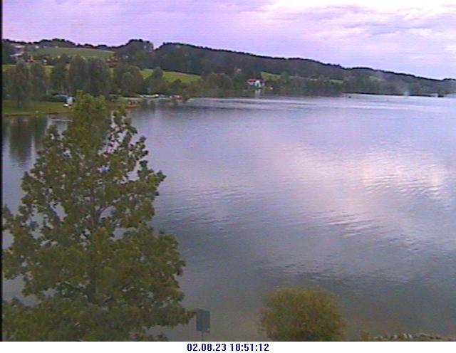 Webcam mit Blick über den Rottachsee